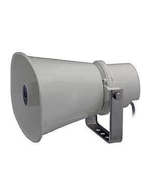 Toa Paging Horn Speaker Zh 615s 15 Watt 15 watt paging horn speaker toa corporation