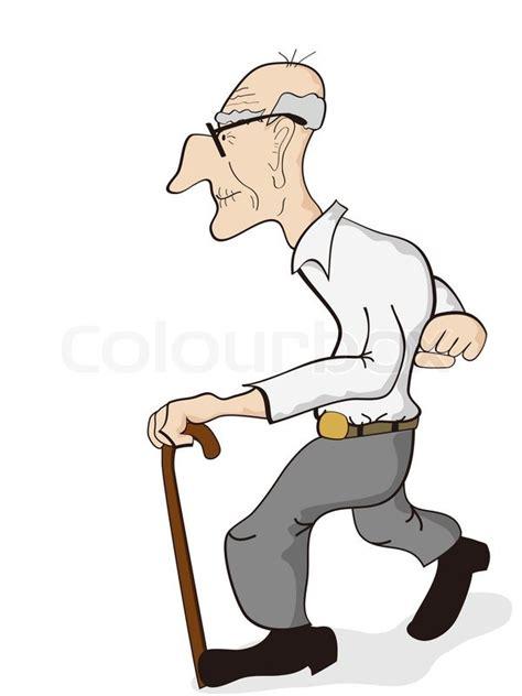 coole wandlen clipart alter mann kostenlos