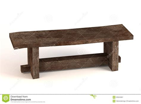 bench of medieval bench stock illustration illustration of gothic 33524361