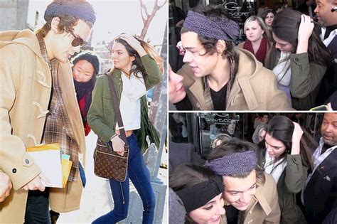 kendall jenner and harry styles were spotted eating together at a one direction harry styles and kendall jenner spotted