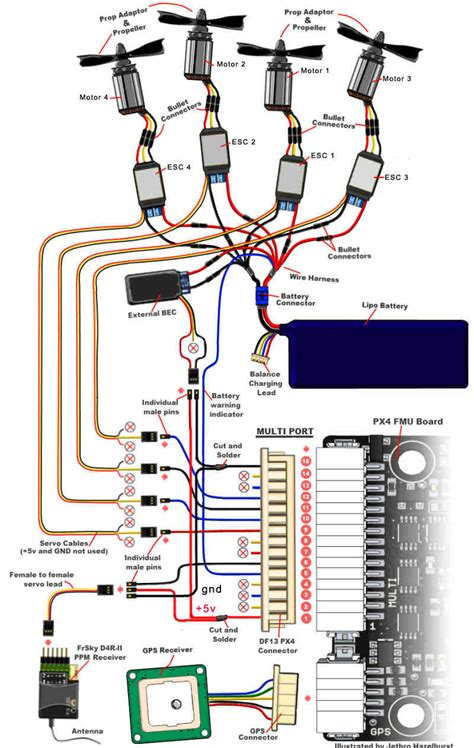in flight controller wiring diagram in get free image