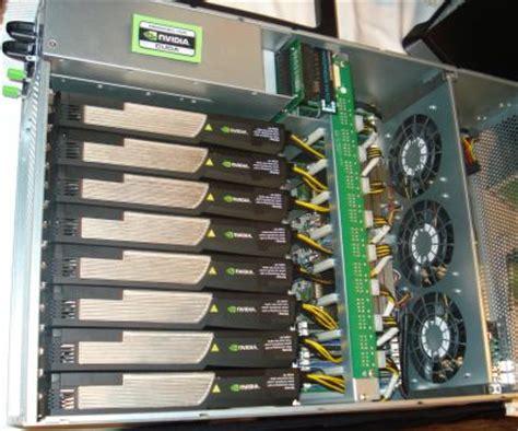 Tesla Compute Cluster Supercomputacion Hogare 241 A Nvidia Tesla Y Clone Phone