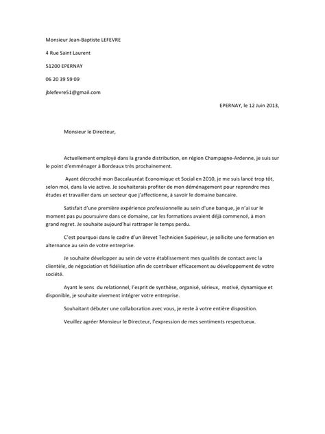 Lettre De Motivation Ecole Educateur Sp Cialis Exemple Lettre De Motivation Cadre Superieur 28 Images Exemple Lettre Motivation Fonction
