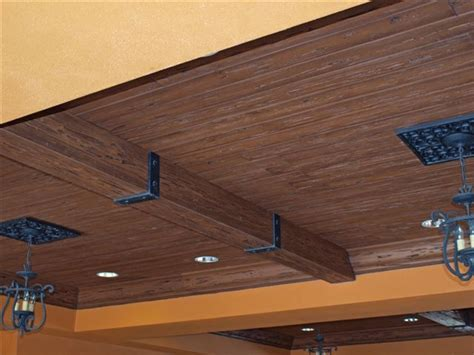 Faux Wood Ceiling Planks by Faux Wood Ceiling Design Ideas By Timberkast