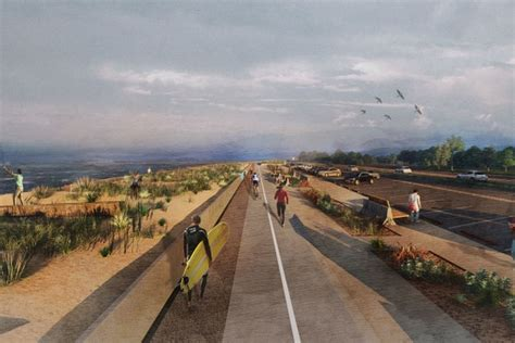 fighting architecture and design erosion spur suggests abandoning part of great highway to fight