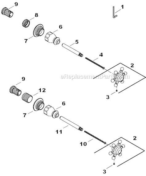kohler k t154 3 parts list and diagram ereplacementparts
