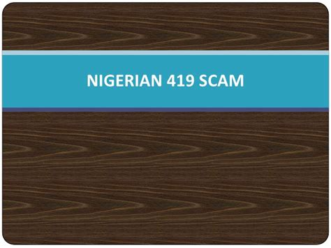 snopes nigerian 419 scam nigerian 419 scam