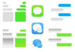 imessage template free imessage vector free vector stock