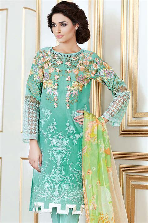 dress design gul ahmed gul ahmed festive eid collection 2017 18 lawn silk