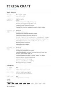 Sample Resume For Real Estate Agent 37 Real Estate Agent Resume Samples To Help You Vntask Com