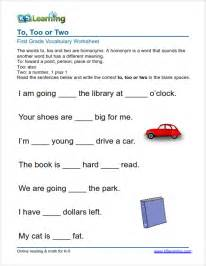 grade vocabulary worksheets printable and