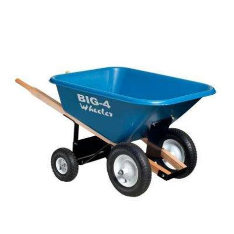 wheelbarrows wheelbarrows yard carts the home depot