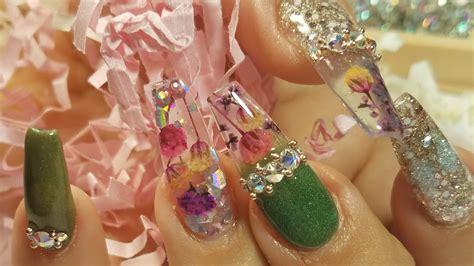 imagenes de uñas de acrilico para primavera u 241 as acrilicas primavera colecci 243 n mayas nails youtube
