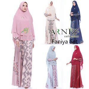 Syibia Set By Arniz Collection jual beli faniya set original arniz collection baru
