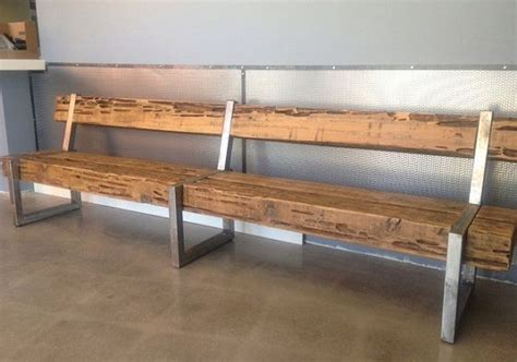 modern steel furniture rustic modern patio furniture cedar wood bench with steel