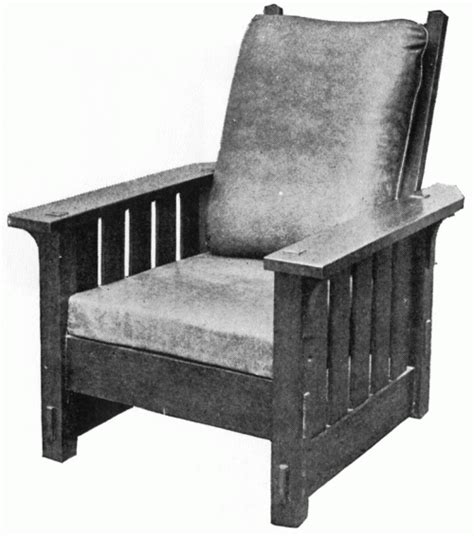stickley reclining chair 1910 stickley reclining chair no 332 craftsman
