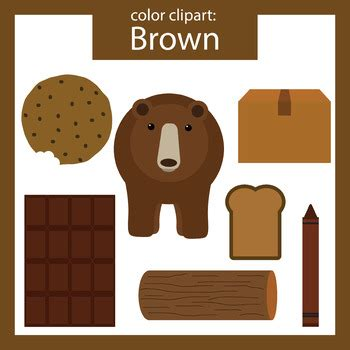 brown clip brown clipart brown objects
