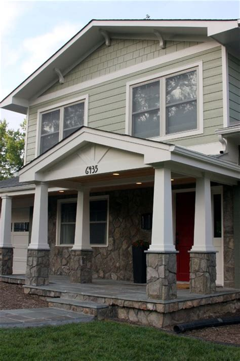 Craftsman Porch | craftsman portico traditional porch other metro by