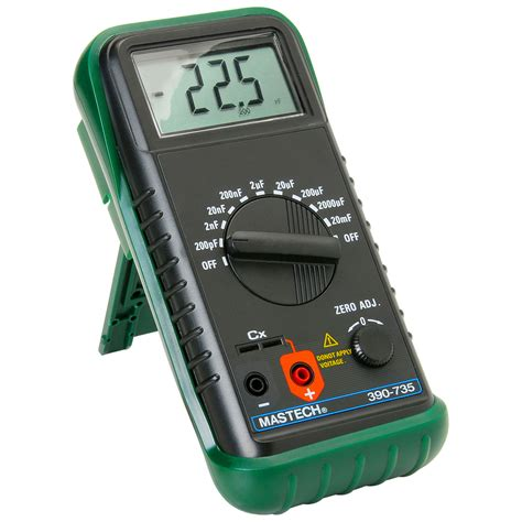 Probe Multimeter digital handheld capacitance meter
