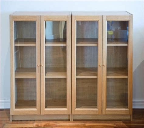 wood curio cabinet with glass doors ikea curio cabinet with glass doors ikea home design