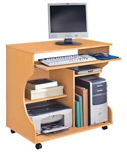 Computer Desk Argos Buy Curved Computer Desk Trolley Beech Effect At Argos Co Uk Your Shop For Desks And