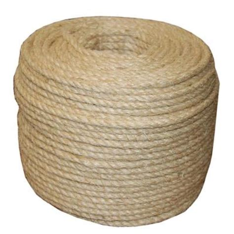 t w cordage 5 16 in x 1035 ft twisted sisal rope