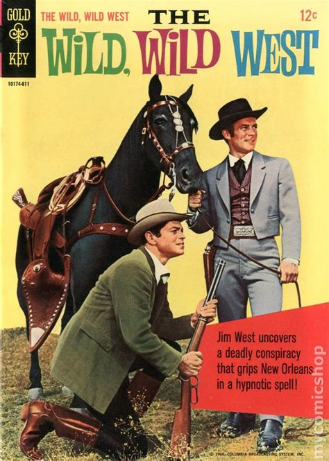 katsella elokuva the night of the hunter wild wild west 1966 gold key comic books