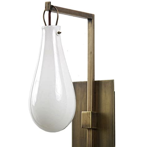 Candelabra Wall Sconces Modern Brass Sconce With Mouth Blown Art Glass Balloon
