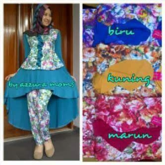 Syari Azzura hafiza dress mayra busana pakaian terbaru