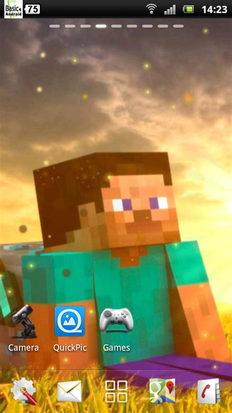 free minecraft android minecraft live wallpaper