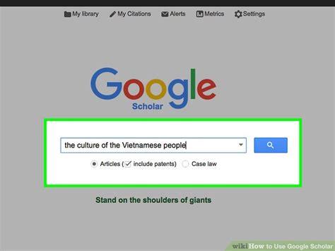 ways   google scholar wikihow