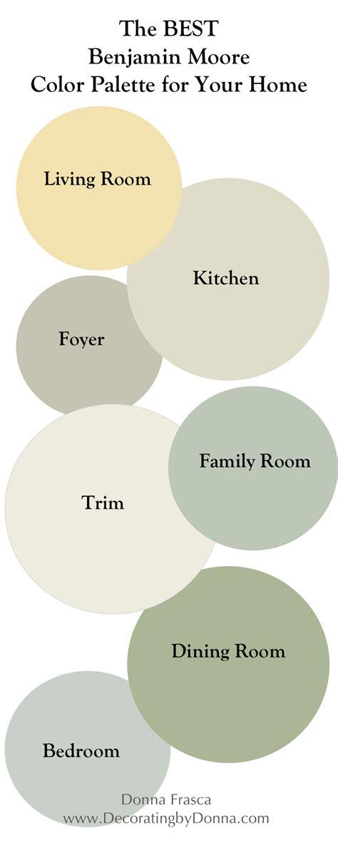 benjamin color palettes the best benjamin coastal color palette for your