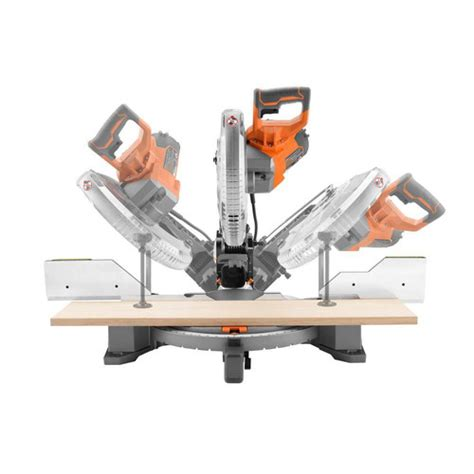 Factory Reconditioned Ridgid Zrr4122 12 In Dual Bevel