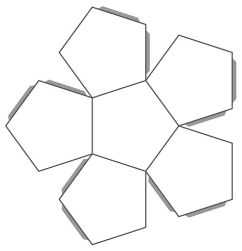 Dodecahedron Template Large Related Keywords - untitled homepage divms uiowa edu