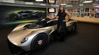 aston martin valkyrie now has real headlights a famous friend