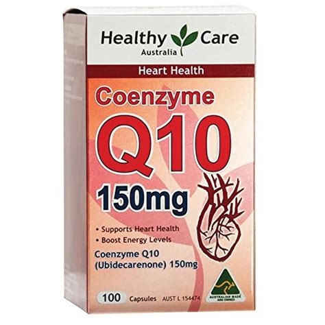Diskon Healthy Care Coenzyme Q10 150mg 100 Caps best selling top best 5 coenzyme q10 australia from