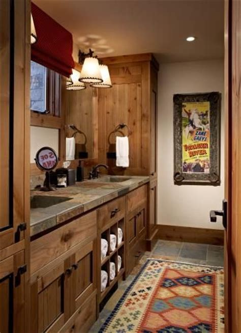rustic cabin bathroom ideas best 25 rustic country homes ideas on country