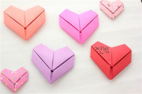 tutorial origami corazon c 243 mo doblar tus cartas en forma de coraz 243 n floritere