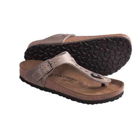 tatami sandals tatami by birkenstock gizeh studs and stitches sandals