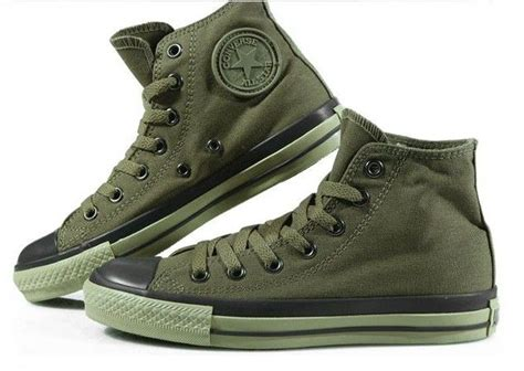 Sepatu Converse All High Army 1 army green converse converse all search