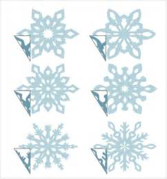 snowflakes templates snowflake template 7 free pdf