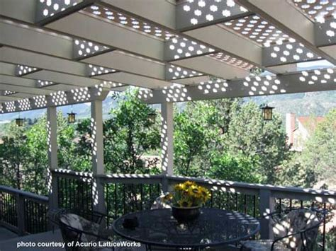 open lattice patio covers crafty