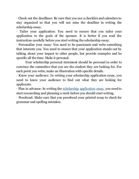 Scholarship Essay Sle Format Discover The Secrets In Writing And Using A Scholarship Essay Format