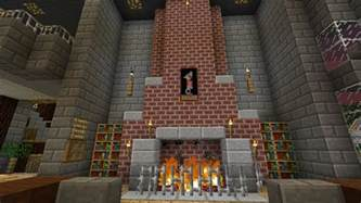 fireplace minecraft