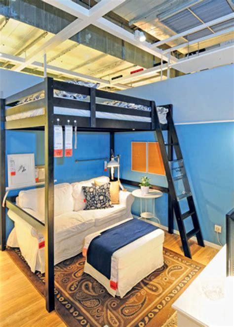 Ranjang Dua Tingkat rumah 25 m2 pun tetap bisa menyenangkan