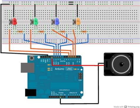 breadboard circuit ideas arduino simple simon says use arduino for projects