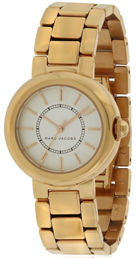 marc jacobs courtney rose gold tone stainless steel ladies