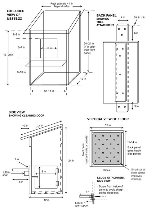 barn owl nest box patterns barn owl nest boxes plans box
