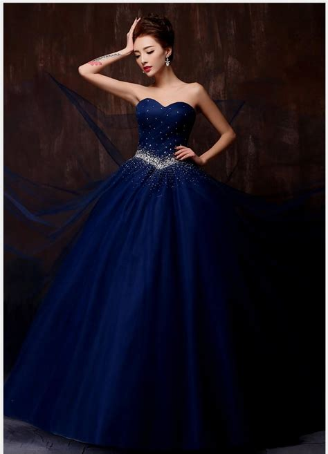 a blue wedding dress dark blue wedding dress naf dresses