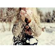 Blowing Girl Photography Snow Winter  Image 70908 On